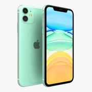 Apple iPhone 11 Verde 3d model