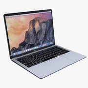苹果MacBook Air 13英寸2018 3d model