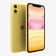 Apple iPhone 11 Amarelo 3d model