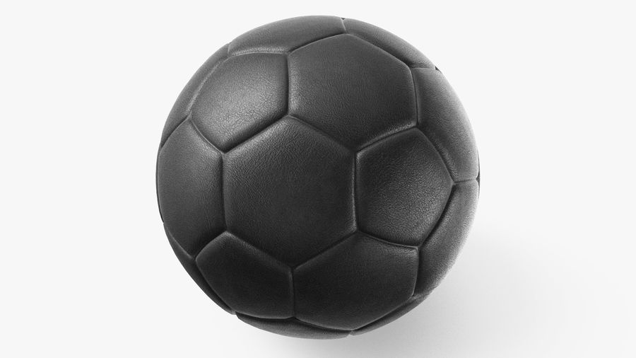 Generic Soccer Balls Collection royalty-free 3d model - Preview no. 15