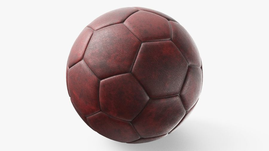 Generic Soccer Balls Collection royalty-free 3d model - Preview no. 8