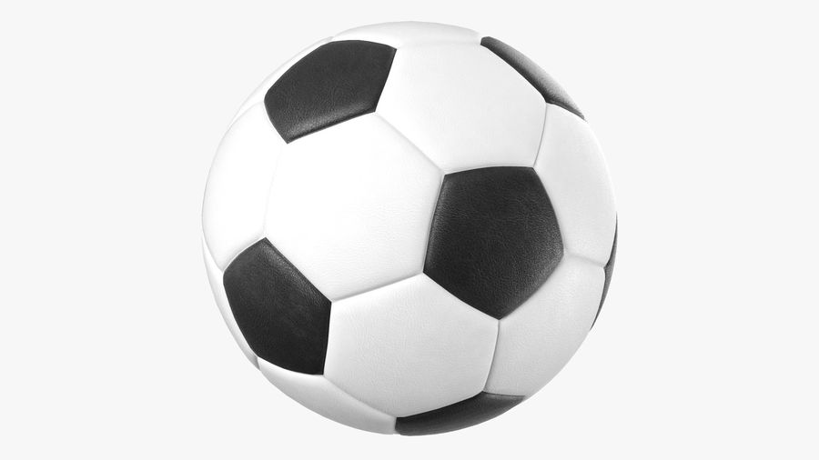 Generic Soccer Balls Collection royalty-free 3d model - Preview no. 6