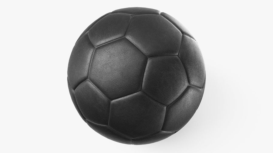 Generic Soccer Balls Collection royalty-free 3d model - Preview no. 16