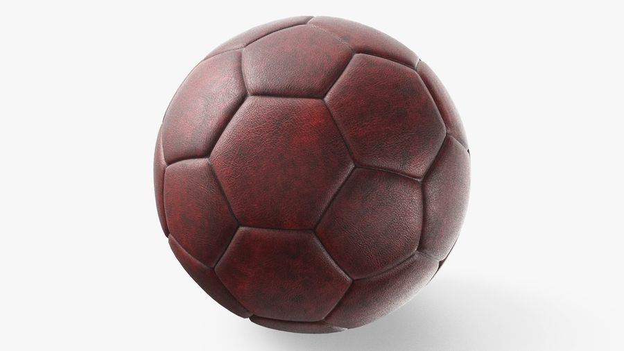 Generic Soccer Balls Collection royalty-free 3d model - Preview no. 9