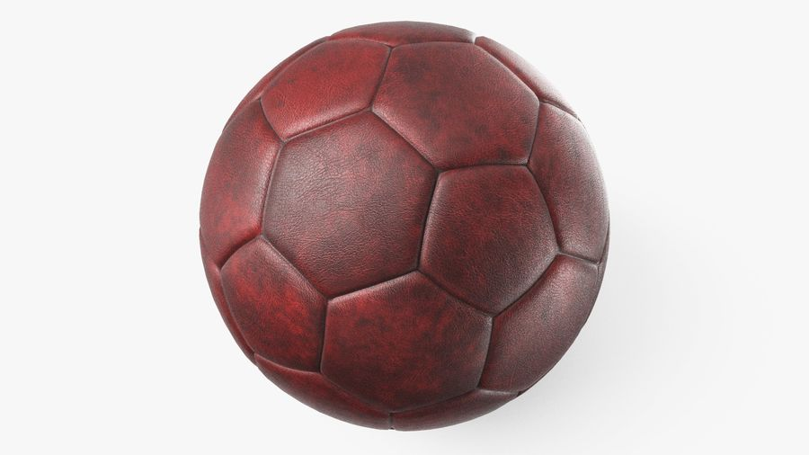 Generic Soccer Balls Collection royalty-free 3d model - Preview no. 11