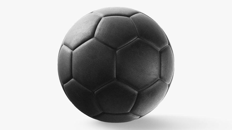 Generic Soccer Balls Collection royalty-free 3d model - Preview no. 17