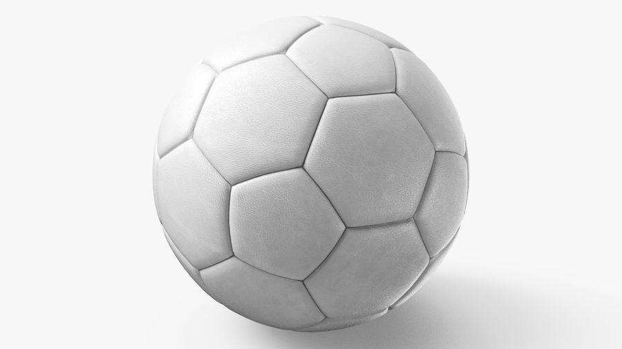 Generic Soccer Balls Collection royalty-free 3d model - Preview no. 18