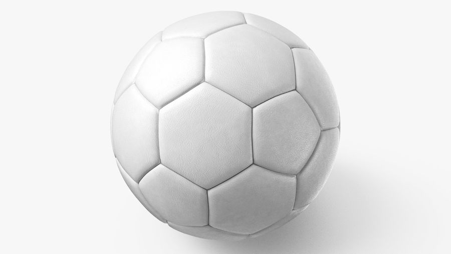 Generic Soccer Balls Collection royalty-free 3d model - Preview no. 20