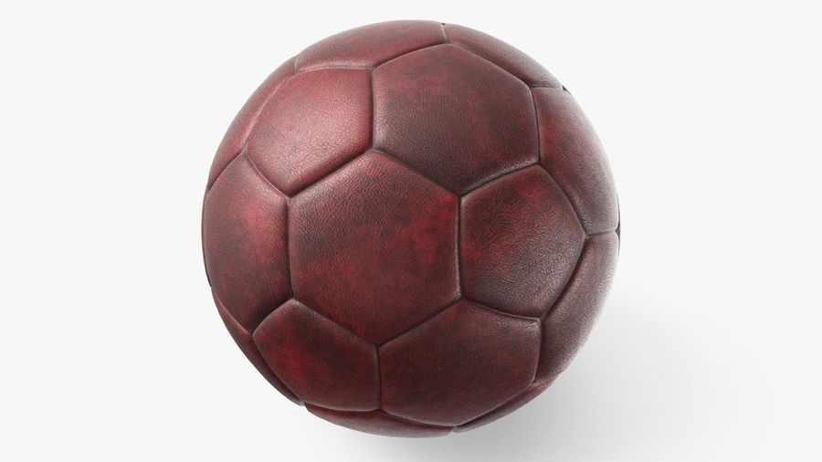 Generic Soccer Balls Collection royalty-free 3d model - Preview no. 10