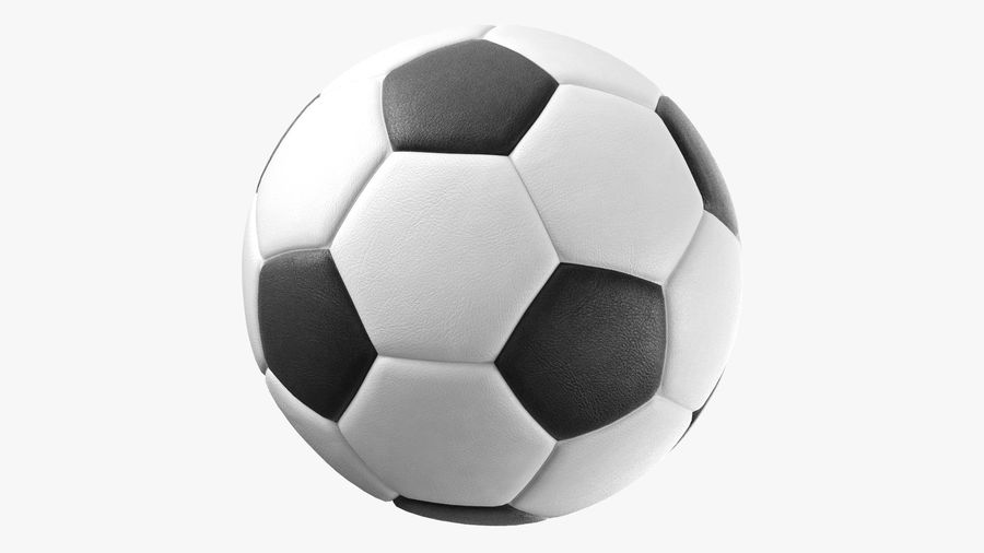 Generic Soccer Balls Collection royalty-free 3d model - Preview no. 4