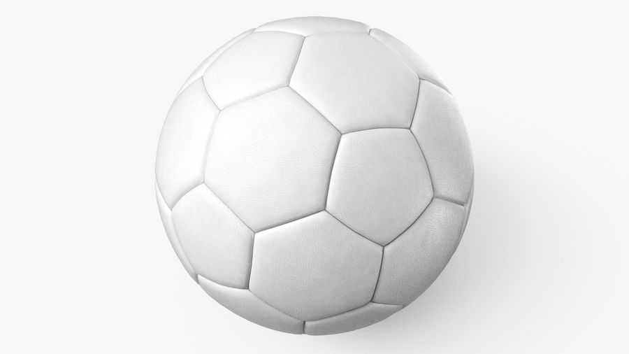 Generic Soccer Balls Collection royalty-free 3d model - Preview no. 21