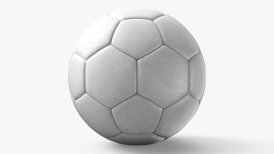 Generic Soccer Balls Collection royalty-free 3d model - Preview no. 22