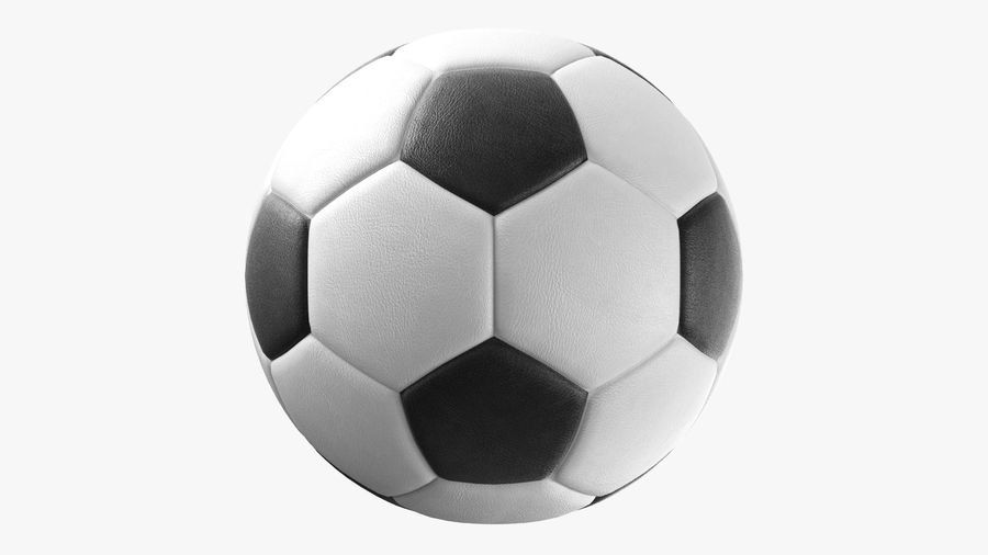 Generic Soccer Balls Collection royalty-free 3d model - Preview no. 7
