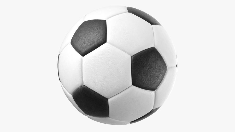 Generic Soccer Balls Collection royalty-free 3d model - Preview no. 5