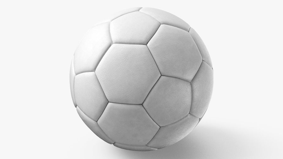 Generic Soccer Balls Collection royalty-free 3d model - Preview no. 19
