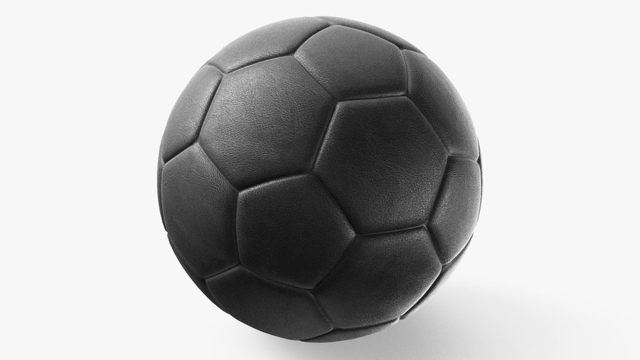 Generic Soccer Balls Collection royalty-free 3d model - Preview no. 13