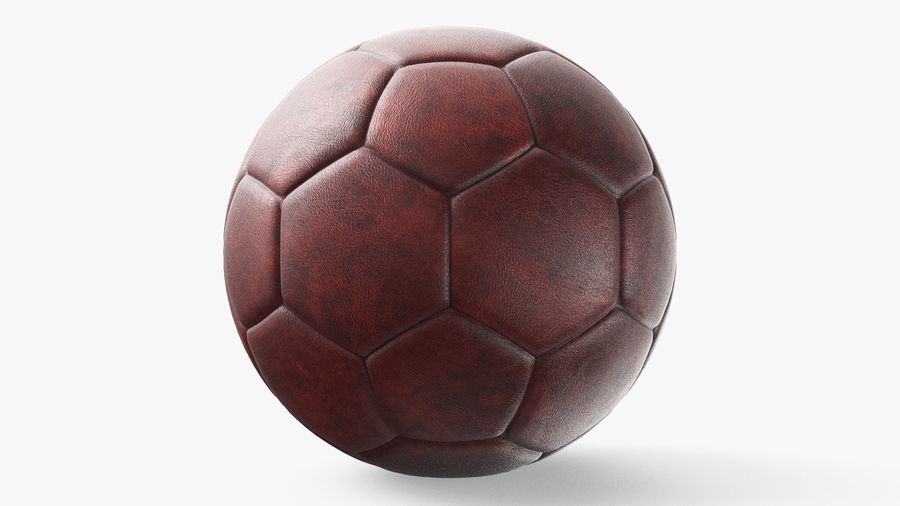 Generic Soccer Balls Collection royalty-free 3d model - Preview no. 12