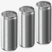 Beverage Sleek Cans 3d model