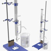 Lab Flask Stand 3d model