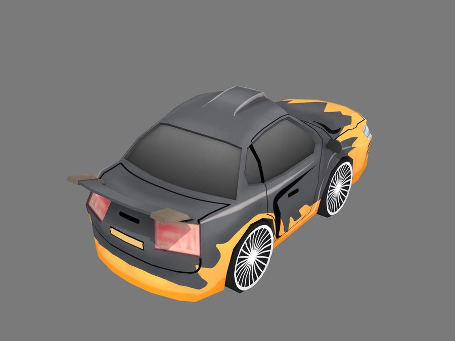 만화 자동차 royalty-free 3d model - Preview no. 4
