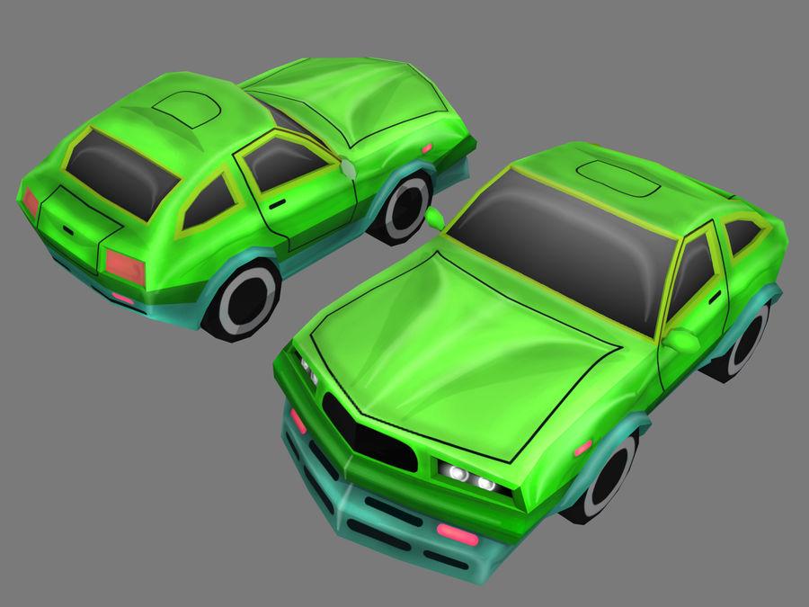만화 자동차 royalty-free 3d model - Preview no. 8