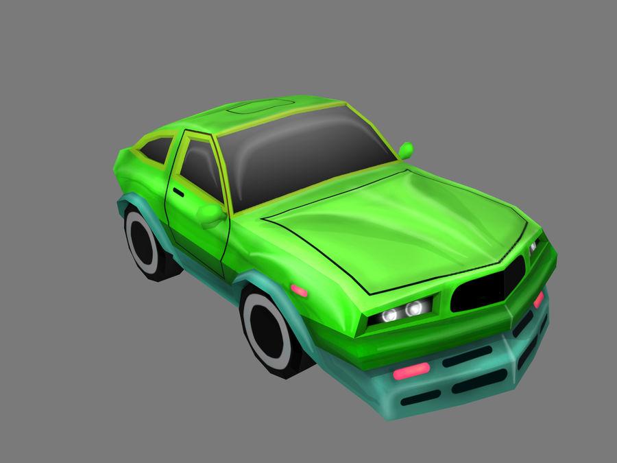 만화 자동차 royalty-free 3d model - Preview no. 5