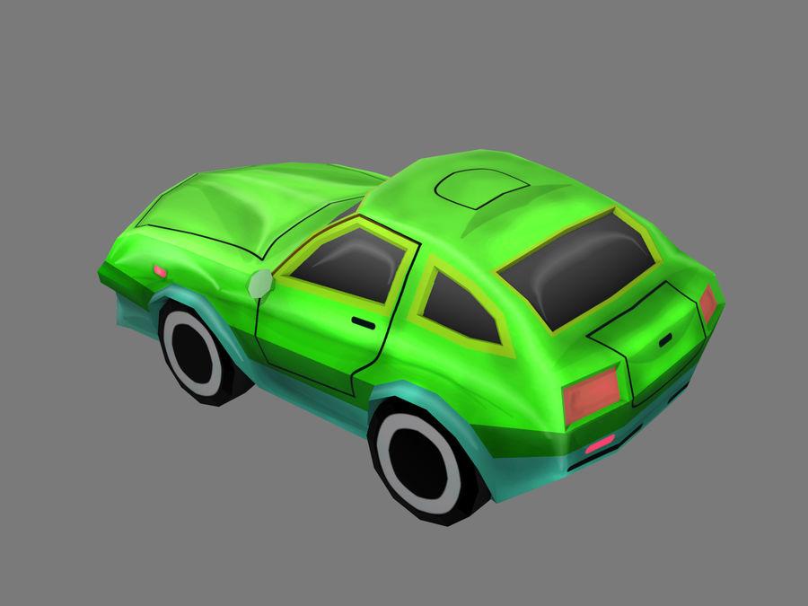 만화 자동차 royalty-free 3d model - Preview no. 3