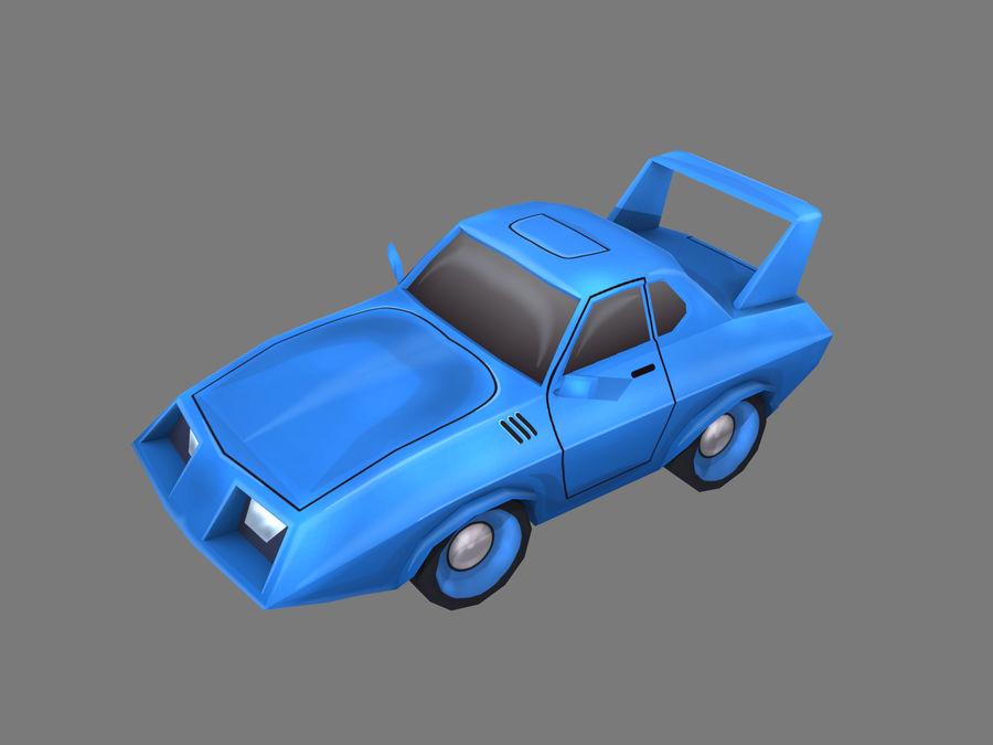 만화 자동차 royalty-free 3d model - Preview no. 1