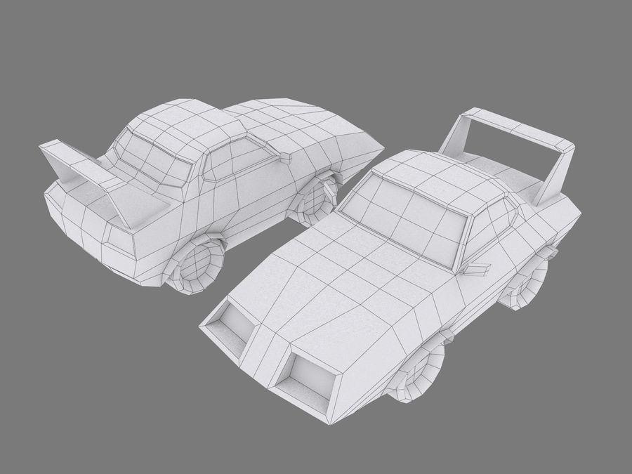만화 자동차 royalty-free 3d model - Preview no. 7