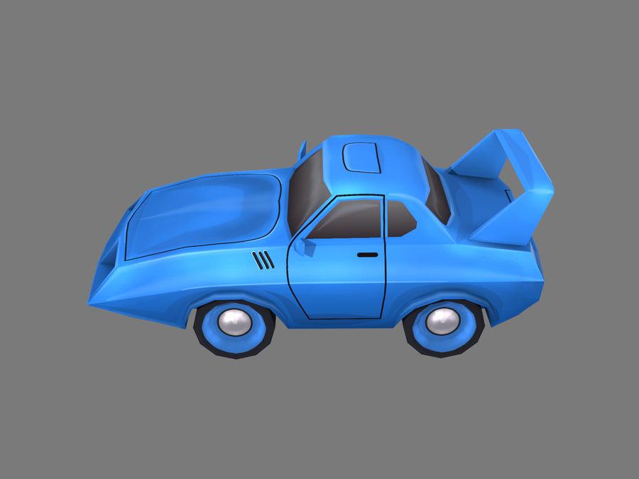 만화 자동차 royalty-free 3d model - Preview no. 2