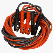 Booster Cable 1200 AMP 01 3d model