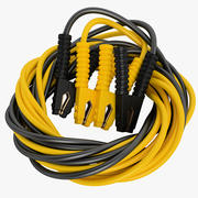Booster Cable 1200 AMP 03 3d model