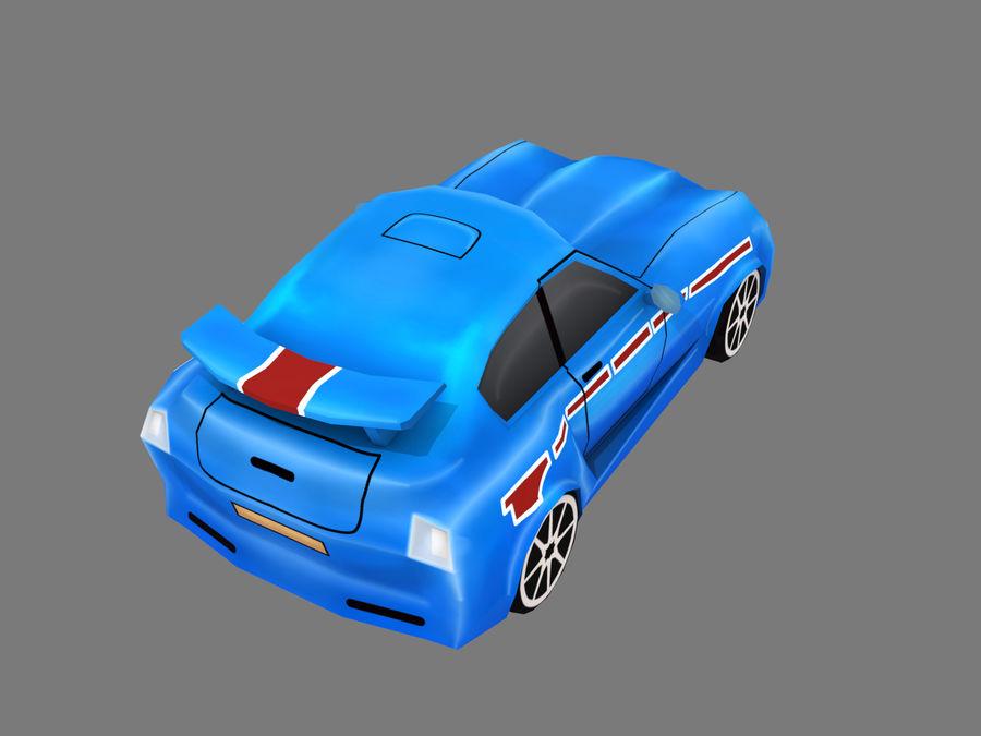 Çizgi Araba royalty-free 3d model - Preview no. 4