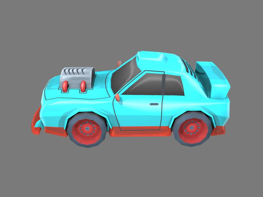 Мультфильм автомобиль royalty-free 3d model - Preview no. 2
