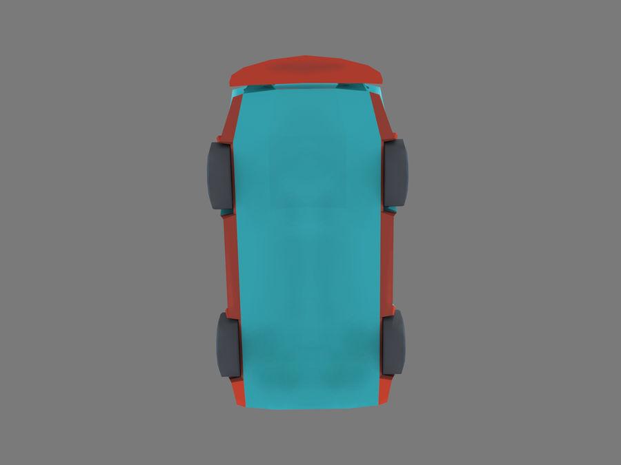 Мультфильм автомобиль royalty-free 3d model - Preview no. 6