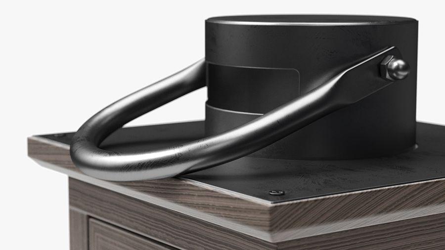 キャンドルランタン01 royalty-free 3d model - Preview no. 8