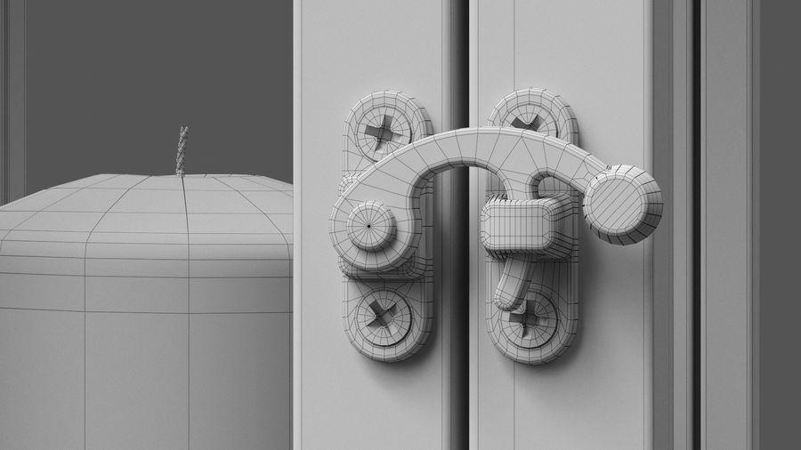 キャンドルランタン01 royalty-free 3d model - Preview no. 10