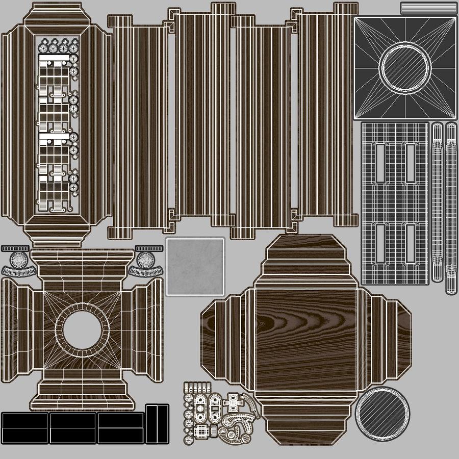 キャンドルランタン01 royalty-free 3d model - Preview no. 12