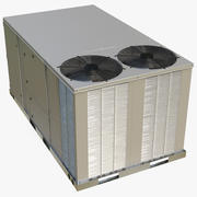 2 Vents Rooftop Air Conditioning System New 3d model