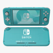 Nintendo Switch Lite Turquesa 3d model