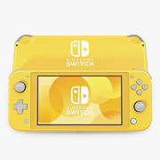 Nintendo Switch Lite Geel 3d model