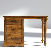 维多利亚时代办公桌自然 3d model