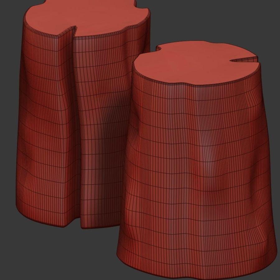 Tafels van stronken royalty-free 3d model - Preview no. 5