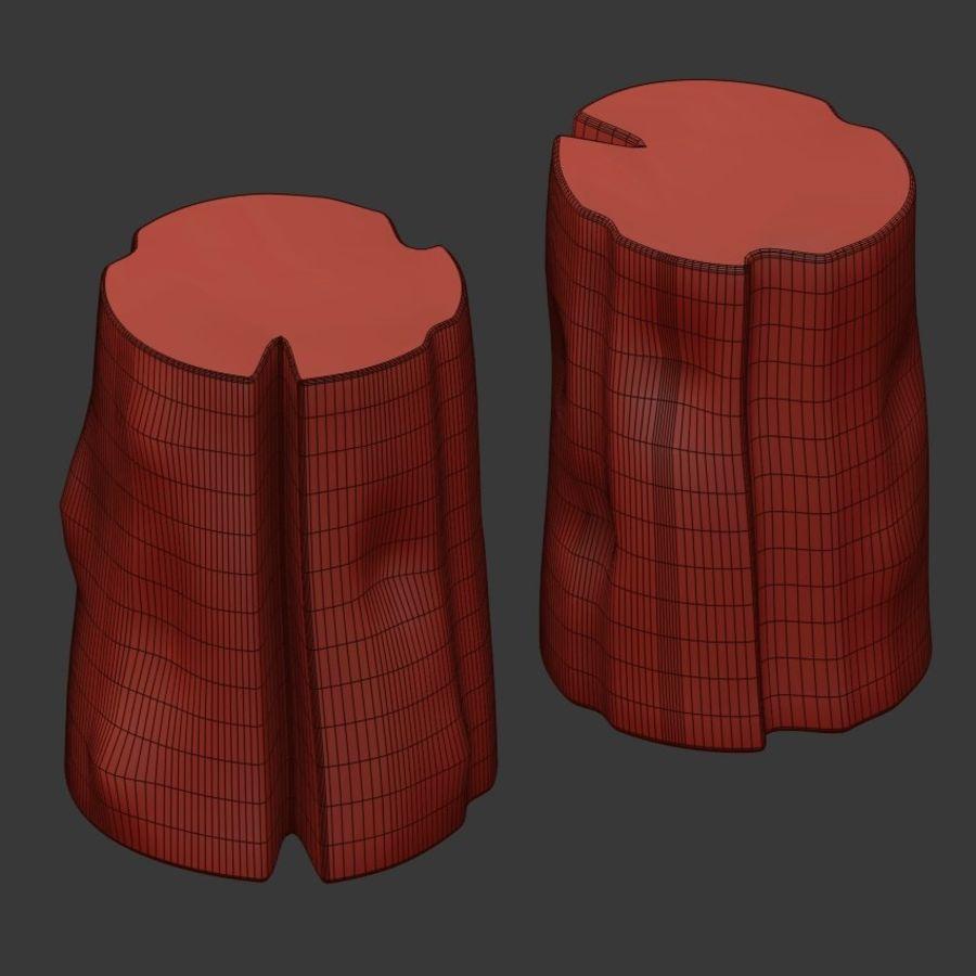 Tafels van stronken royalty-free 3d model - Preview no. 4