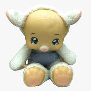 Peluche Animal 11 modelo 3d