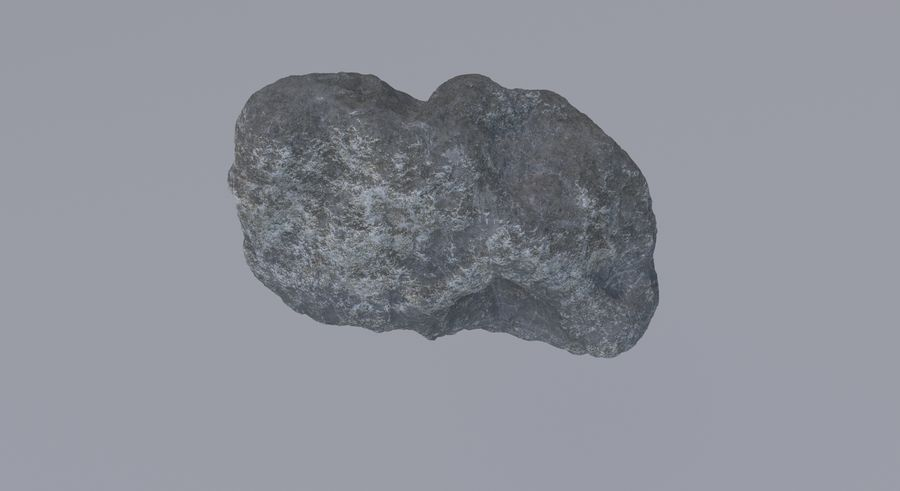 Asteroid royalty-free 3d model - Preview no. 9