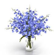 Campanula Bouquet Flowers 3d model