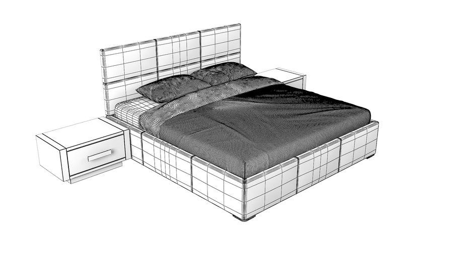 Yatak Odası Takımı royalty-free 3d model - Preview no. 10