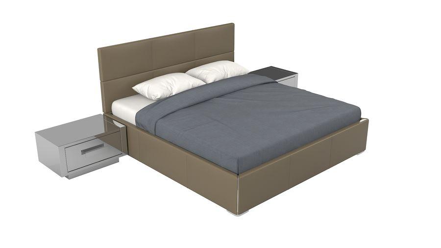 Yatak Odası Takımı royalty-free 3d model - Preview no. 4