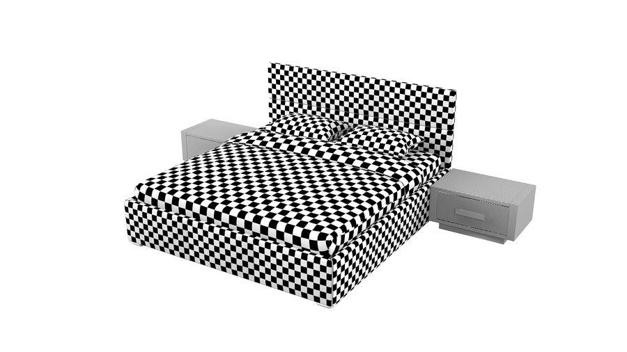 Yatak Odası Takımı royalty-free 3d model - Preview no. 15
